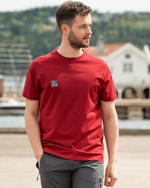 Bilde av Fridtjof Nansen Klassisk T-skjorte - Burgunder